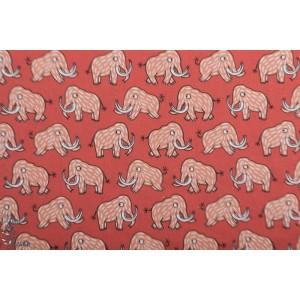 Popeline Eva Mouton Mammoth mamouth elephant garçon graphique  masque