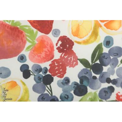 laminé Bio Berry Jam  Cloud9 mat fruit ete imperméable pluie