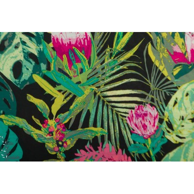 Viscose Tropicalia dark Collection Esoterra by Katarina Roccella For AGF