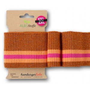 Cuff Plain stiches alb orange rip29
