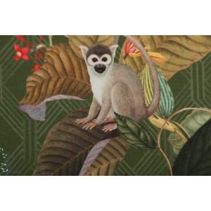 Canvas Half Panama Prémium Singe