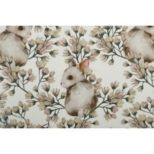 Jersey bio Bunnie White Tygdrommar lapin