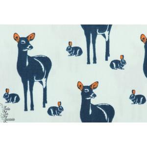 Oh Deer - M - Bleu Clair