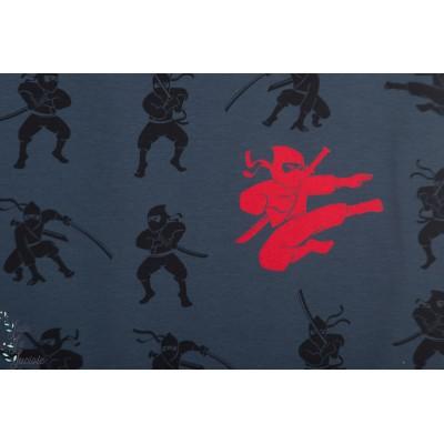 jersey Ninja Bleu / Rouge
