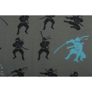 jersey Ninja Kaki/Bleu