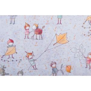 Summersweat Bio Herbstwichtel  Lillestoff SUSAlabim '' Elfes d'automnes''