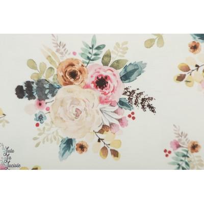 Jersey Hilco Romance watercolor fleur