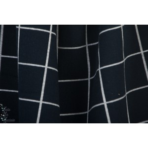Jacquard Bio Interlock karo dark bl