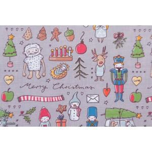 Sweat Bio Weihnachtsdoodle, SUSAlabim Lillestoff jouet noel yetti