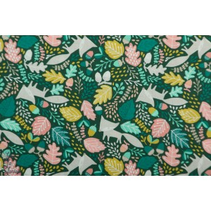 Popeline Bio renard Burgess Feildfelicity fabric