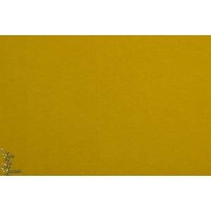 Tissu Jogging brossé golden