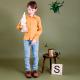 Popeline coton Bio Soft Cactus Rhythm In The Rain - M - Ocre
