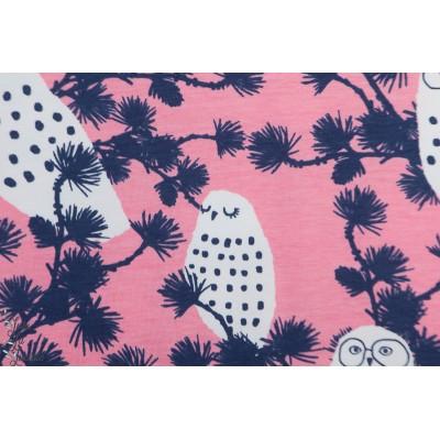 Jersey Bio Paapii Snowy  Owl Light pink blieberry
