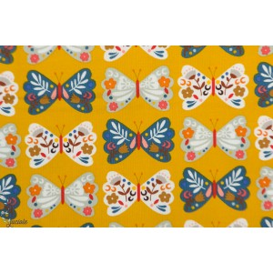 "Velours Milleraie Dashwood ""meadow Safari CORD1742"" papillons"