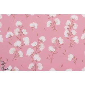 Softshell fleur de coton Katia