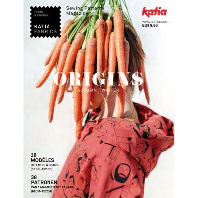 Magazine Katia Origins 1 patron couture enfant