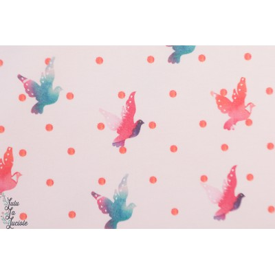 Summersweat Bio MAriellami Lillestoff oiseau paix