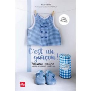 livre C'est un garcon ! patron couture bébé enfant garçon maud vadon