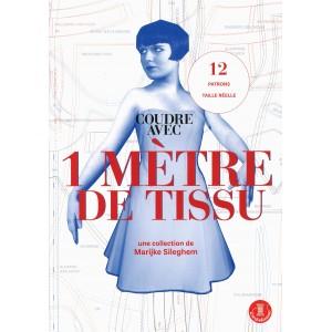 livre patron couture Coudre avec 1 metre de tissu Marijke Sileghem
