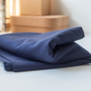 Washed Cotton Twill Bronze Mind the Maker Navy