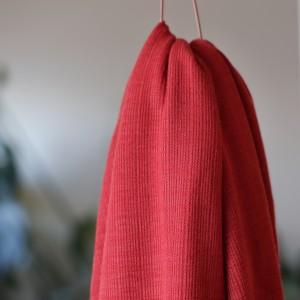 Viscose Trim Knit russet red  Mind the Maker