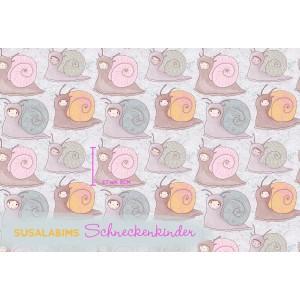 Summersweat Bio Schneckenkinder Lillestoff SUSAlabim escargot