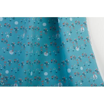 Popeline Bio Modern Meadow from Modern Love By Monaluna Fabrics