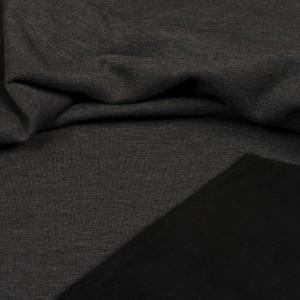 Sweat Hilco uni Heavy hoodie gris foncé