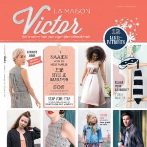 patron couture Magazine Maison Victor 2/2017 français mars - avril