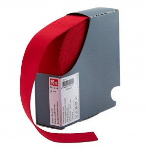 Ceinture Elastique Prym 38mm rouge