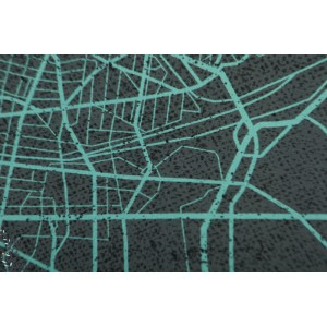 Panneau Sweat Urban network bt Thorsten berger gris