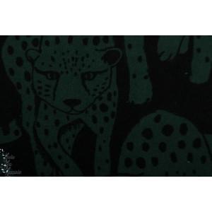Terry Strech - Eponge sweat -  Paapii Cheetah dark green