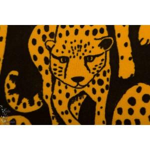 Terry Strech - Eponge sweat -  Paapii Cheetah dark ochre