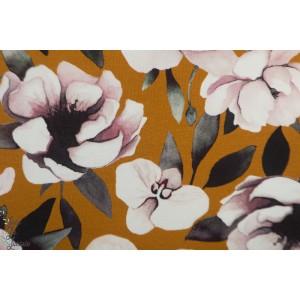 Jersey  Bio Blush Bloom cinnamon  Mieli Design
