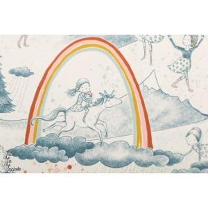 Jersey Bio Am Anfang Des Regenbogens SUSAlabim Lillestoff arc en ciel