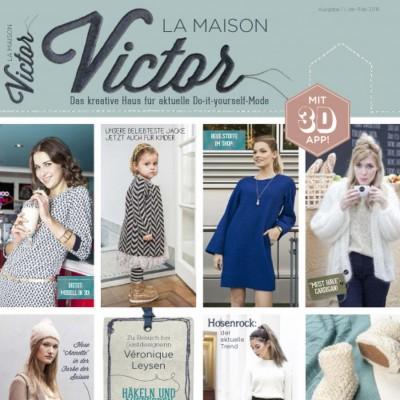 Magazine Patron Couture Tricot Famille Maison Victor 12016