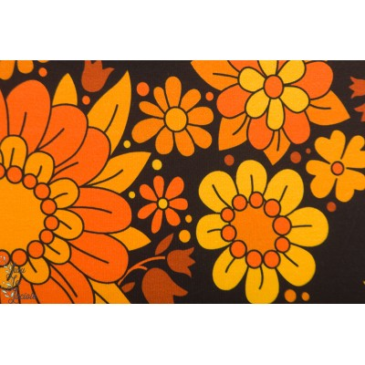 jersey orange/black  blossom Vintage in my Heart