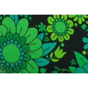 jersey green/black  blossom Vintage in my Heart