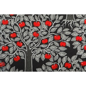 jersey tree of life red Vintage in my Heart