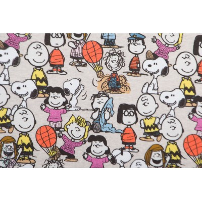 Jersey bio Snoopy peanuts gang