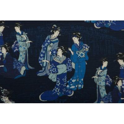 Coton utsukushii Musume Bleu Kokka