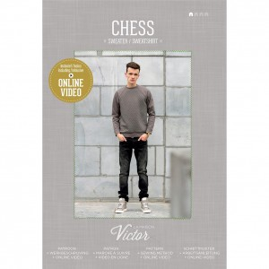 Patron couture  Chess Sweater homme sweat pull maison victor