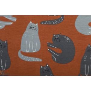 Jersey Bio cats Rusty  Elvelyckan Design