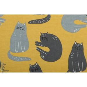 Jersey Bio cats Gold  Elvelyckan Design