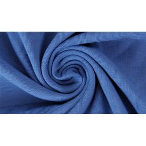 Jersey Uni Bio dunkelblau Lillestoff