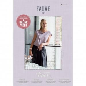 Patron couture mode Top Femme FAUVE maison victor