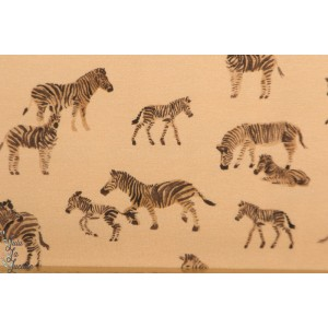 jersey Zebra  Family Fabrics