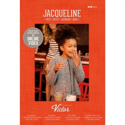 Patron couture fille  Veste Enfant JACQUELINE maison victor