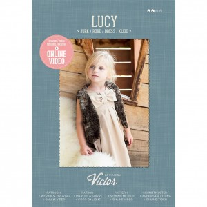 Patron couture enfant mode   Robe fille LUCY maison victor