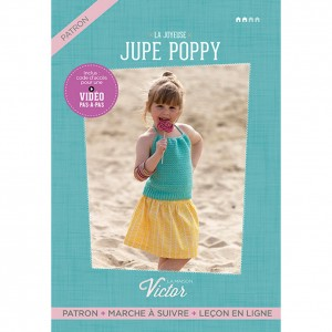 Patron Jupe fille POPPY ALLEMAND